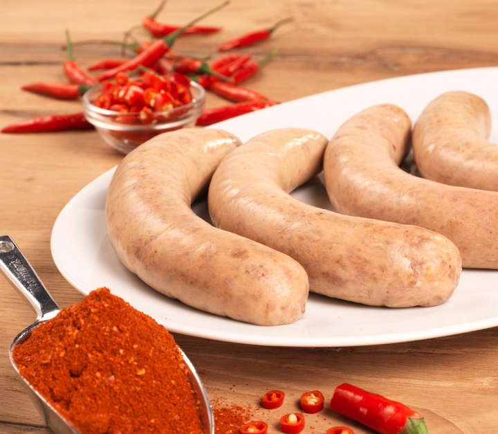 Bild: Die Juli-Extrawurst 2019: Toggenburger Lammgrillwurst mit Red Hot Curry